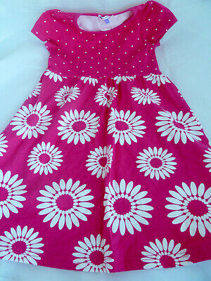 Girls John Lewis Summer Floral Cotton Dress Size 7 years old