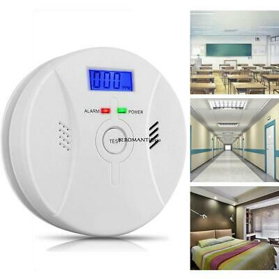 Combination Carbon Monoxide Smoke Alarm Poisoning Sensor Detector BE0R 02