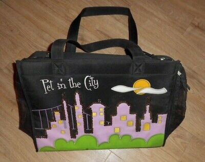 Pet Carrier/Travel Bag - Pet in the City
