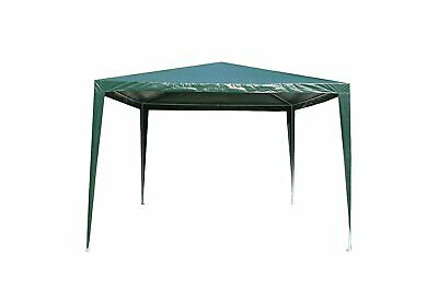 3Mx3M PE Garden Outdoor Gazebo Marquee Canopy Awning Party Wedding Tent Green
