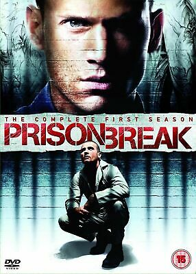 Prison Break Complete 1st Season Dvd Wentworth Miller Brand New & Factory Sealed