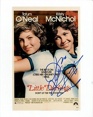 Kristy McNichol Little Darlings Autographed Signed 8x10 Photograph