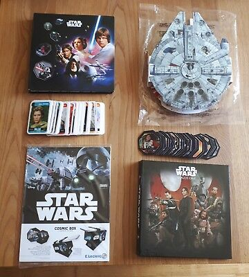 Lot star wars leclerc 2015 2016 2017 2018 complet collection cosmic box