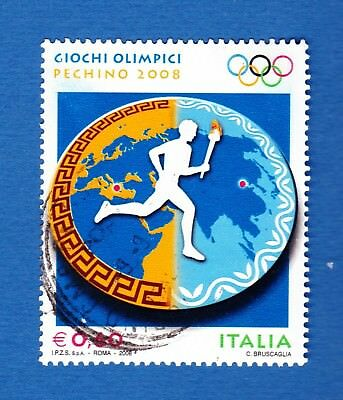 Italia 2008 Pechino olimpiadi olympic games sport atletica athletics usato used