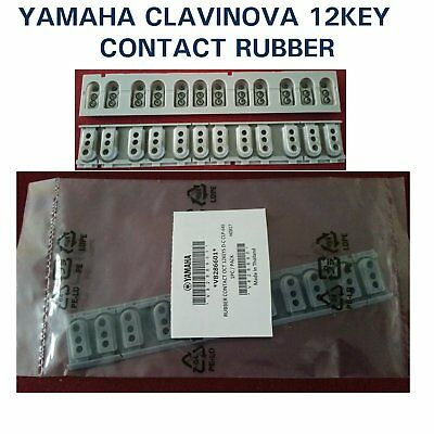Yamaha Clavinova Key Rubber Contact 12 way GH3 piano CLP CVP V8286600 V828660R