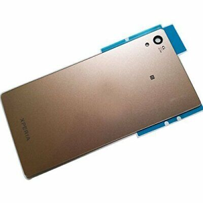 Glass Material Back Housing Cover for Sony Xperia Z4 (BRONZE/GOLD)