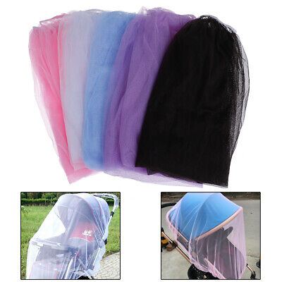 Baby stroller pushchair cart mosquito insect net safe mesh buggy crib netting GQ