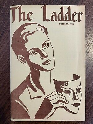 The Ladder Lesbian Magazine Vol 2 #1 October 1957 Bilitis