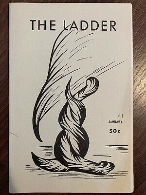 The Ladder Lesbian Magazine Vol 5 #4, January 1961. Bilitis
