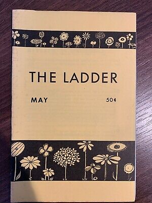 The Ladder Lesbian Magazine Vol 6 #8, May 1962. Bilitis