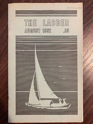 The Ladder Lesbian Magazine Vol 6 #11, August 1962. Bilitis