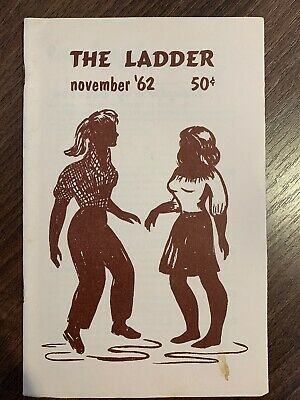 The Ladder Lesbian Magazine Vol 7 #2, November 1962. Bilitis