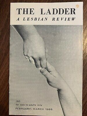 The Ladder Lesbian Magazine Vol 9 #5-6, Match 1965. Bilitis