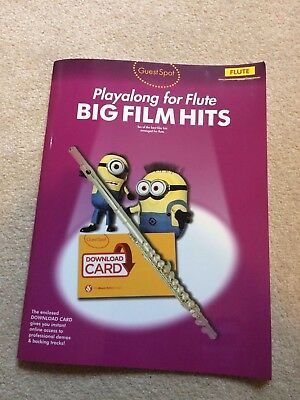 Playalong for Flute Big Film Hits