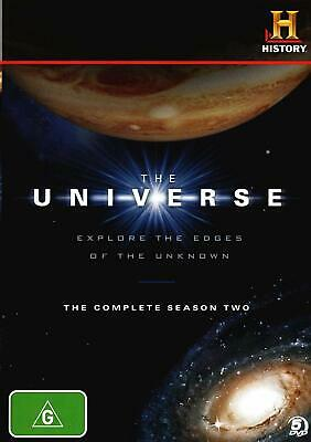 The Universe - The Complete Season 2 Dvd Boxset History Channel New Free P&P