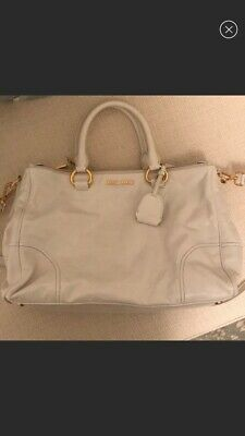 94189b0cd3ea AUTHENTIC FENDI PEEKABOO Medium Beige Grey Leather Handbag -  162.00 ...