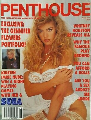 Penthouse Magazine Volume,28 Kirsten Imrie Mens Vintage Adult Glamour *FREE POST