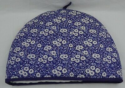 Burleigh Pottery by Cally & Co Teacosy Tea Cosy Classic Blue & White Pattern