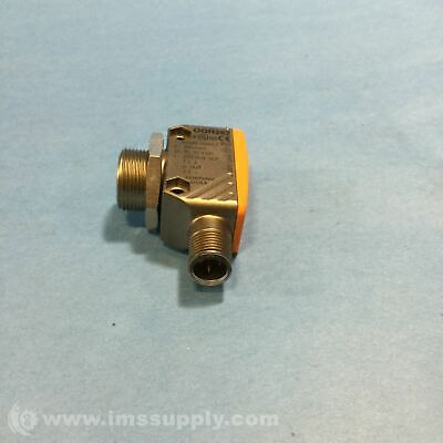 Ifm Efector Ogh282 Photoelectric Sensor, Right Angle, Diffuse Fnip