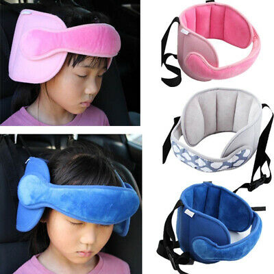 Child Car Seat Head Support Sleep Pillows  Neck Safety Adjustable Protector Belt