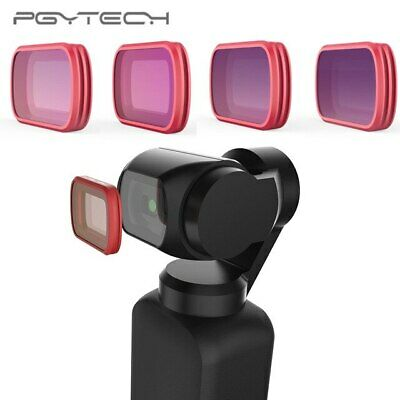 PGYTECH HD Lens Filter ND8- ND16- ND32- ND64- For DJI OSMO Pocket Mobile 4X Pack