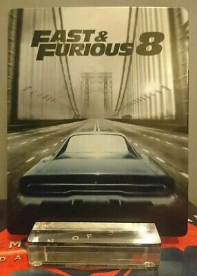 FAST & FURIOUS 8 bluray steelbook comme neuf/like new pas de VF