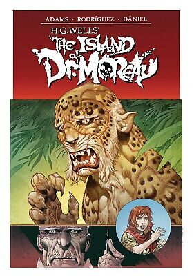 The Island of Dr Moreau #1 Cover A IDW Comics PREORDER - SHIPS 07/08/19