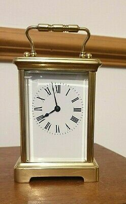 Edwardian Cornish Carriage Clock 8 Day In Full Working Order