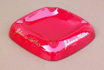 Cendrier JOHNNIE WALKER pub whisky bar bistrot Rouge Fontaine BAUDOUR ashtray