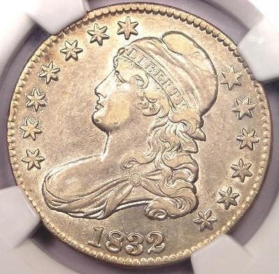 1832 Capped Bust Half Dollar 50C O-102 - NGC XF40 (EF40) - Rare Certified Coin!