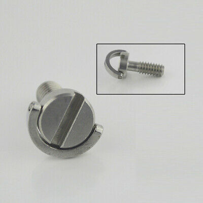 """1/4"""" Screw Stainless Steel For Camera Tripod Quick Release High strength Newest"""