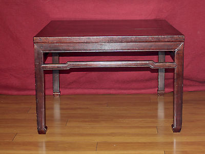 Antique Chinese Table Wood 18Th Century Kang Table