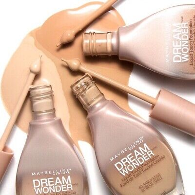Maybelline New York Dream Wonder Fluid-Touch Foundation - Choose Your Shade