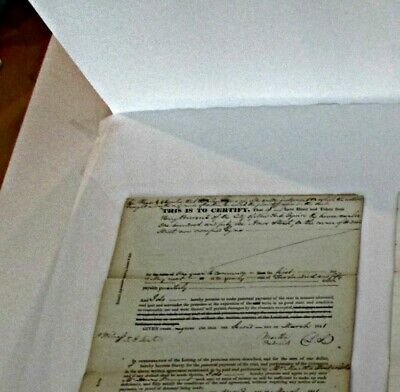 4 documents of New York City Real Estate Lawsuits 1841-65 Henry Brevoort