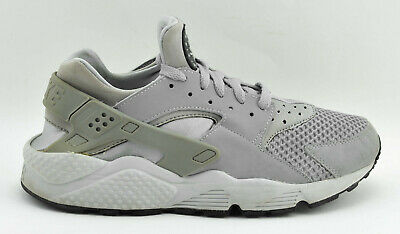 sports shoes 248d4 2ce6a Mens Nike Air Huarache Running Shoes Size 9 Us 42.5 Eu Gray 318429 014