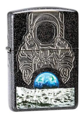 Zippo Unisex's Armor Moon Landing, 2019 Collectible Of The Year Windproof
