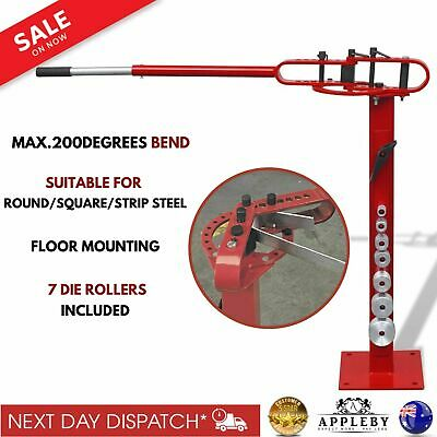 Floor Standing Steel Pipe Tube Strip Metal Bending Machine Angle Bender Manual