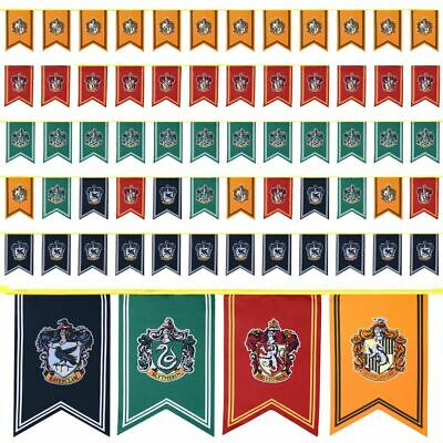 Game of Thrones / Harry Potter House School Wall Banner Flag Home Party Decor