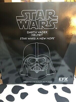 Sideshow STAR WARS EFX DARTH VADER LIMITED PROP REPLICA HELMET 1:1 SCALE Statue