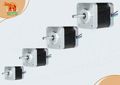 EU Free ship! 4PCS Nema17 Stepper Motor 42BYGHW804 4800g.cm 1.2A 48mm 2Ph 4lead