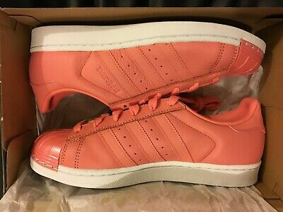 813986086e3 New Adidas Superstar Mt W Metal Toe Rose Leather Shoe By9750 Women Size 7.5  Us