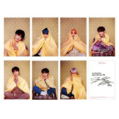 KPOP BTS Bangtan Boys Map of The Soul: Persona BOY WITH YOU Self Made LOMO Cards