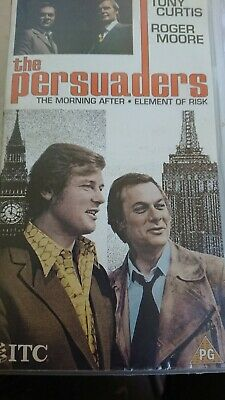 The Persuaders Original Vhs Cassette Uk Pal