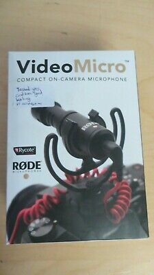 Rode VideoMicro On Camera Mic - Super Compact Microphone RØDE inc VAT