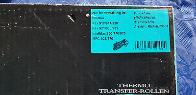 4*Thermorolle für Brother Fax910/917/920/921/930/931 Intel750/770/870