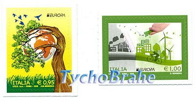 SET Stamps EUROPE THINK GREEN 2016 ITALY MNH POSTEUROP ITALIA Serie VERDE EUROPA