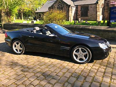 Mercedes-Benz Sl350 3.7 Auto Convertible+Only 51K F/S/H+2 Owners+Satnav+Leather+