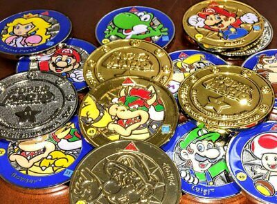 Super Mario Challenge Coins Nintendo Enterplay 2016 - Pick & Finish Your Sets
