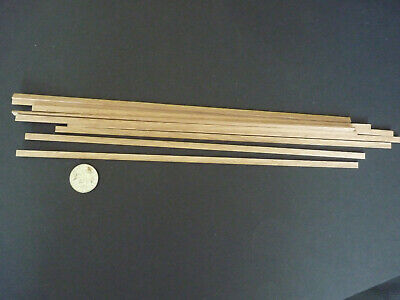 1.4mm x  10mm x  300mm etc 10 lengths for Modeling,Craft Wood Strip/_Oak