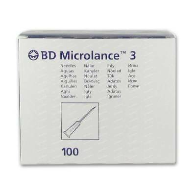 Bd Microlance Sterile Hypodermic Needles Medical 18G 19G 20G 21G 22G 23G 25G 26G